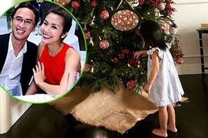 Chuyện showbiz: Ông xã Tăng Thanh Hà lần đầu khoe ảnh con gái