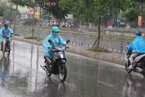 Nhiều nơi có mưa rào