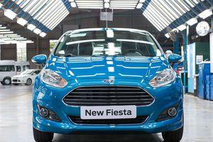 Ford Fiesta dừng sản xuất ở Việt Nam sau 7 năm
