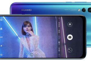 Huawei công bố Nova 4 với màn hình đục lỗ và camera 48 megapixel
