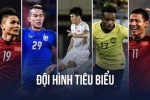Đội hình tiêu biểu AFF Cup 2018: Đội tuyển Việt Nam áp đảo