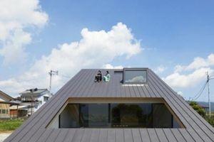 Ngôi nhà có mái sát đất khiến ai cũng phải ngỡ ngàng khi bước vào trong