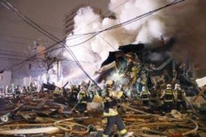 Rò rỉ khí gas có thể là nguyên nhân gây nổ nhà hàng ở Nhật