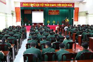 Đảng ủy quân sự tỉnh Sóc Trăng triển khai các nội dung Hội nghị Trung ương 8, khóa XII của Đảng