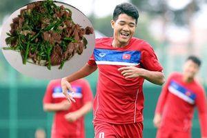 Bật mí các món ăn khoái khẩu của cầu thủ Việt Nam