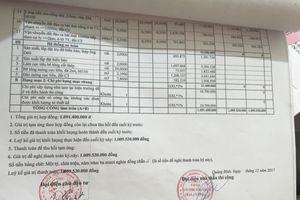 Tỉnh ủy Quảng Bình chỉ đạo xử lý nghiêm sai phạm từ phản ánh của Báo GD&TĐ