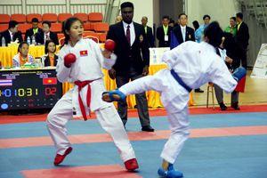 19th ASEAN University Games: Karate giành HCV ngày ra quân