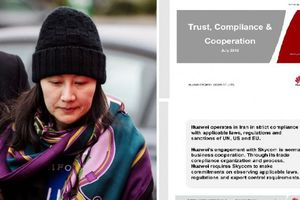 Mỹ chính thức công bố tài liệu mật buộc tội giám đốc tài chính Huawei