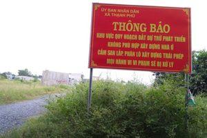 Xã Thạnh Phú (huyện Vĩnh Cửu, tỉnh Đồng Nai): Đầu nậu thi nhau 'xẻ' tài nguyên đất để phân lô bán nền
