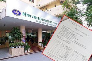 Lùm xùm tại Bệnh viện Nhiệt đới Trung ương: Thanh tra Bộ Y tế vào cuộc