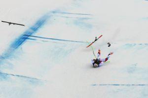 Tai nạn kinh hoàng ở Giải vô địch trượt tuyết đổ dốc thế giới