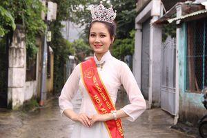 Tân Hoa khôi Sinh viên Việt Nam muốn trở thành luật sư giỏi