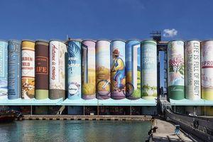 Hàn Quốc lập kỷ lục Guiness về bức tranh tường lớn nhất thế giới