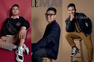 Quang Hải xuất hiện trong bộ ảnh thời trang khoe vẻ bảnh bao làm 'đổ gục' trái tim fans nữ