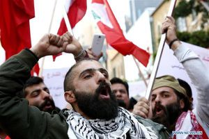 Biểu tình chống tham nhũng ở Lebanon