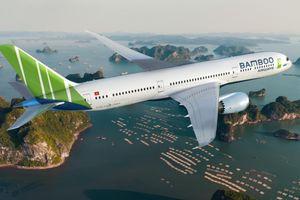 Tàu bay đầu tiên của Bamboo Airways về đến Nội Bài