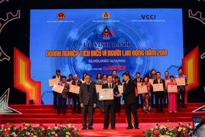 Vedan Việt Nam Nam được vinh danh 'Doanh nghiệp vì người lao động năm 2018'