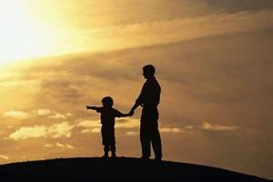 Câu chuyện cảm động về tình cha con