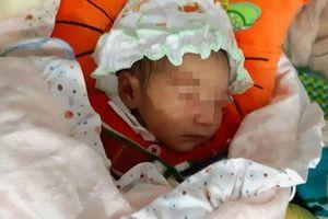 Bé gái xinh đẹp mới sinh bị bỏ rơi trước chùa trong đêm rét căm căm