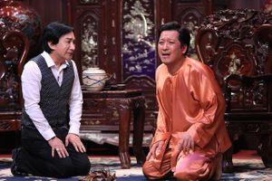 Kim Tử Long quỳ gối cầu xin Trường Giang cho cưới con gái ở 'Ơn giời'