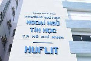 Bộ GD&ĐT không công nhận bằng tiến sĩ của hiệu trưởng Đại học HUFLIT