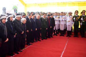 Đồng chí Nguyễn Văn Trân an nghỉ tại Nghĩa trang Công viên Vĩnh Hằng
