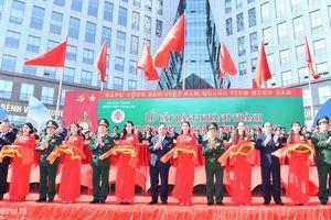 Bệnh viện trung ương Quân đội 108 đón nhận danh hiệu Anh hùng LLVTND và khánh thành tòa nhà khám chữa bệnh hiện đại nhất Việt Nam