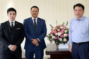 Đại sứ đặc mệnh toàn quyền nhà nước Qatar tại Việt Nam gửi thư chúc mừng Chủ tịch VFF