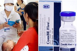 Chỉ 3 trẻ bị tai biến nhập viện trong 17.356 trẻ đã tiêm vaccine '5 trong 1' ComBE Five