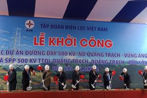Khởi công dự án điện gần 12.000 tỉ đi qua miền Trung
