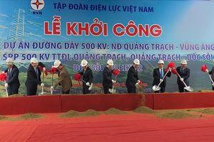 Khởi công đường dây 500kV qua 9 tỉnh miền Trung