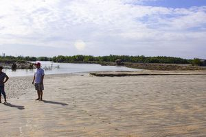 Vụ lấp sông làm cảng ở Bà Rịa - Vũng Tàu: Sở Xây dựng không có hồ sơ