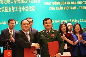 Hiệu quả thiết thực từ hợp tác quản lý cửa khẩu trên biên giới đất liền Việt Nam-Trung Quốc