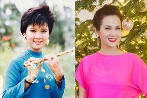 Vẻ đẹp không tuổi của hoa hậu tóc tém đầu tiên Việt Nam