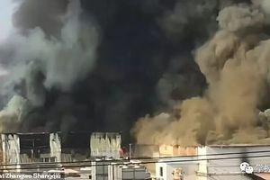 Hỏa hoạn kinh hoàng tại nhà máy ở Trung Quốc, 11 người thiệt mạng