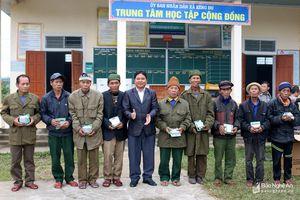 Nhiều hoạt động từ thiện tại các địa phương ở Nghệ An