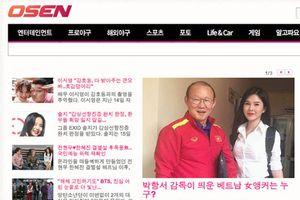 MC xinh đẹp bên cạnh HLV Park Hang Seo 'gây sốt' tại Hàn