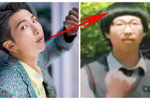 RM (BTS) tiết lộ câu chuyện bí mật đằng sau kiểu tóc xấu nhất trong quá khứ của mình