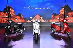 Yamaha Grande Hybrid mới - Nữ hoàng xe ga dành cho phái đẹp