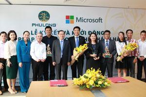 Địa ốc Phú Long hợp tác với Microsoft Việt Nam đẩy mạnh 'số hóa doanh nghiệp'