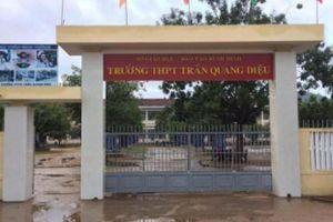 Bình Định: Nam sinh lớp 11 đánh thầy giáo nhập viện