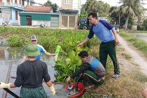 Thanh Hóa: Khẩn trương xử lý sự cố rò rỉ dầu ra môi trường