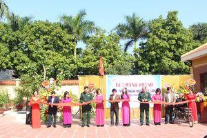 TT điều dưỡng thương binh Thuận Thành khánh thành 'Nhà tưởng niệm người có công'