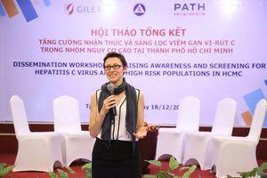 Tăng cường nhận thức và sàng lọc bệnh viêm gan C tại Việt Nam