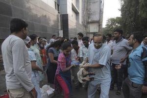 Cháy bệnh viện ở Ấn Độ: Ít nhất 6 người chết và 129 người bị thương
