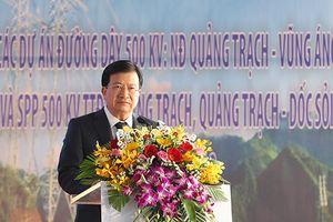 Tập đoàn Điện lực Việt Nam khởi công loạt 3 dự án đường dây 500kV
