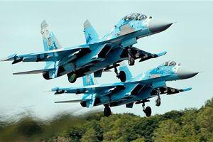 Căng thẳng với Ukraine leo thang, Nga điều chiến đấu cơ tới bán đảo Crimea