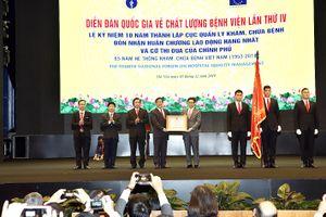 Phó Thủ tướng Vũ Đức Đam ghi nhận nỗ lực nâng cao chất lượng bệnh viện