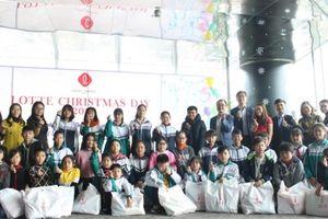Lotte mang Giáng sinh đến với trẻ em nghèo