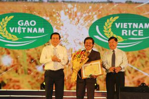 Chính thức công bố logo thương hiệu gạo Việt Nam
